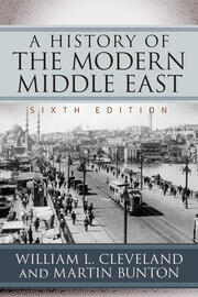 A History of the Modern Middle East - 6th Edition book cover