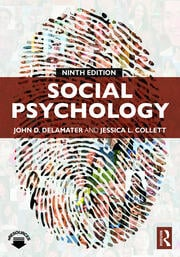Social Psychology - 9th Edition book cover