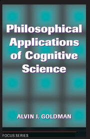Philosophical Applications Of Cognitive Science - 1st Edition book cover