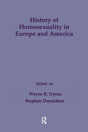 History of Homosexuality in Europe & America