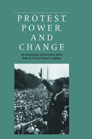 Protest, Power, and Change - 1st Edition book cover