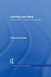 Learning and Work - 1st Edition book cover