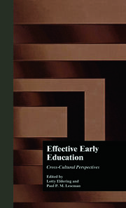 Effective Early Childhood Education - 1st Edition book cover