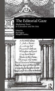 The Editorial Gaze - 1st Edition book cover