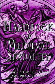 Handbook of Medieval Sexuality - 1st Edition book cover
