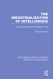 The Industrialization of Intelligence - 1st Edition book cover