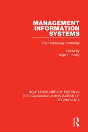 Management Information Systems: The Technology Challenge - 1st Edition book cover