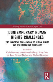 Contemporary Human Rights Challenges - 1st Edition book cover