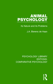 Animal Psychology - 1st Edition book cover