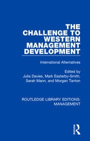 The Challenge to Western Management Development - 1st Edition book cover