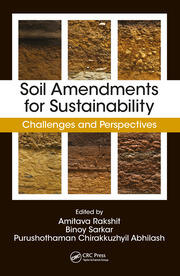 Soil Amendments for Sustainability - 1st Edition book cover