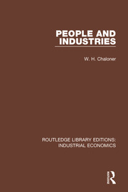 People and Industries - 1st Edition book cover