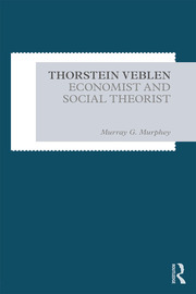 Thorstein Veblen - 1st Edition book cover
