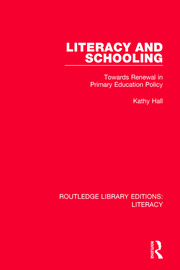 Literacy and Schooling - 1st Edition book cover