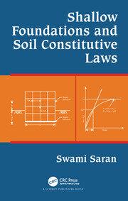 Shallow Foundations and Soil Constitutive Laws - 1st Edition book cover