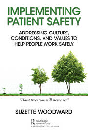 Implementing Patient Safety - 1st Edition book cover