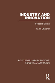 Industry and Innovation - 1st Edition book cover