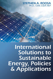 International Solutions to Sustainable Energy, Policies and Applications - 1st Edition book cover