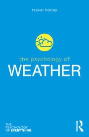 The Psychology of Weather - 1st Edition book cover