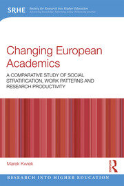 Changing European Academics - 1st Edition book cover