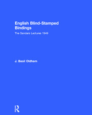 English Blind Stamped - 1st Edition book cover