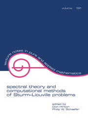 Spectral Theory & Computational Methods of Sturm-Liouville Problems