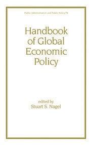 Handbook of Global Economic Policy