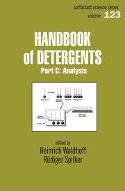 Handbook Of Detergents, Part C: Analysis
