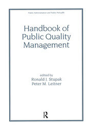 Handbook of Public Quality Management