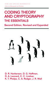 Coding Theory and Cryptography: The Essentials, Second Edition