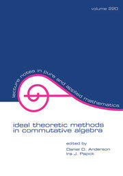 Ideal Theoretic Methods in Commutative Algebra
