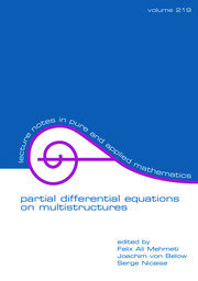 Partial Differential Equations On Multistructures - 1st Edition book cover