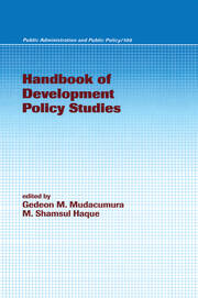 Handbook of Development Policy Studies