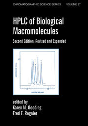 Hplc Of Biological Macro- Molecules, Revised And Expanded - 2nd Edition book cover