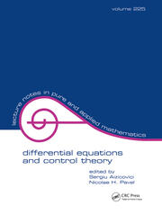Differential Equations And Control Theory - 1st Edition book cover