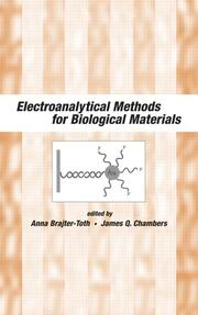 Electroanalytical Methods Of Biological Materials