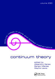 Continuum Theory - 1st Edition book cover