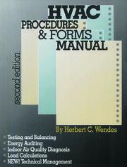 HVAC Procedures & Forms Manual, Second Edition