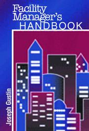 Facility Manager's Handbook