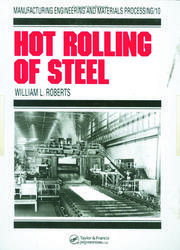 Hot Rolling of Steel - 1st Edition book cover
