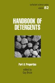 Handbook of Detergents, Part A: Properties