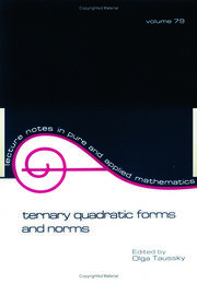 Ternary Quadratic Forms and Norms - 1st Edition book cover