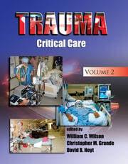 Trauma: Critical Care