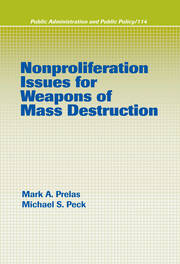 Nonproliferation Issues For Weapons of Mass Destruction
