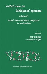 Metal Ions in Biological Systems: Volume 41: Metal Ions and Their Complexes in Medication