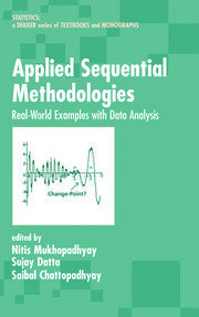 Applied Sequential Methodologies: Real-World Examples with Data Analysis