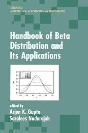 Handbook of Beta Distribution and Its Applications