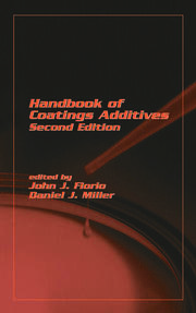 Handbook Of Coating Additives