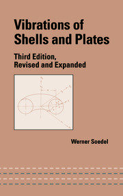 Vibrations of Shells and Plates - 3rd Edition book cover