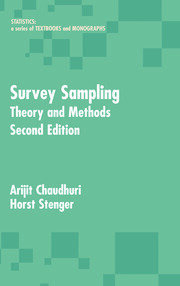 Survey Sampling: Theory and Methods, Second Edition